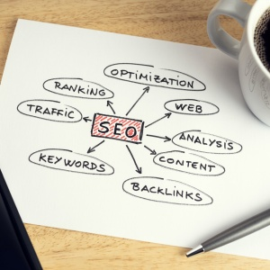 SEO or search engine optimization concept